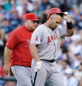 Mike Scioscia, Albert Pujols