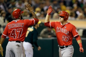 Mike Trout, Howie Kendrick