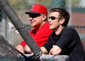 Mike Scioscia, Jerry Dipoto