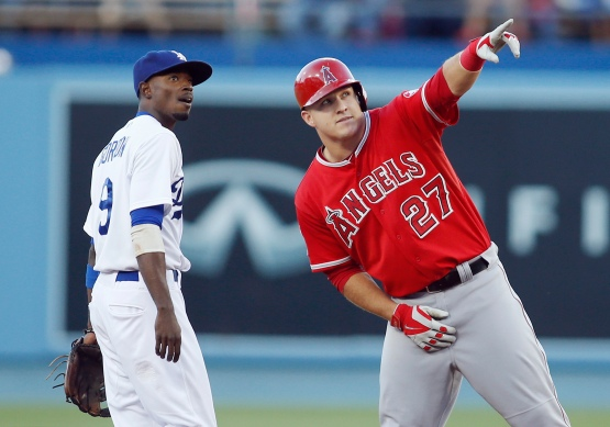 Mike Trout, Dee Gordon